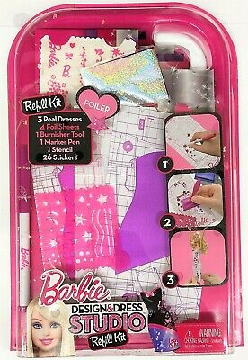 Barbie Fashion Design Plates Pink And Green Make Your Own Outfit For Doll 12 99 Picclick Uk