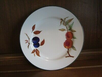 Royal Worcester Evesham Vale 1X27cms Dinner Plate.Excellent condition.Free Post!