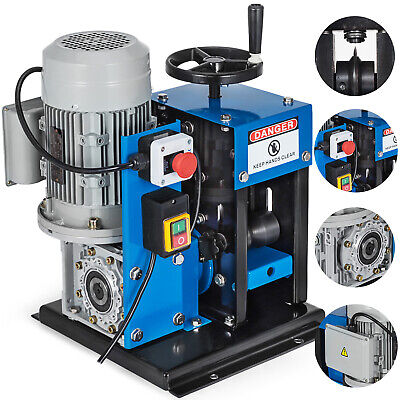 """16AWG-2-1/4"""" Electric Wire Stripping Machine Energy Saving Comercial Portable"""