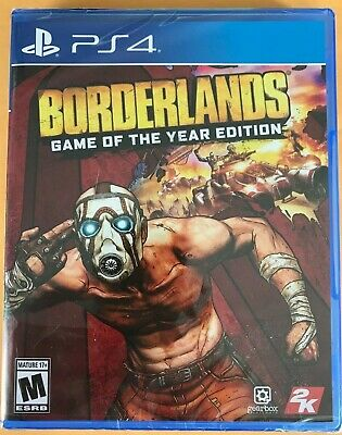 Borderlands Game of the Year Edition ps4, playstation 4 game new factory sealed