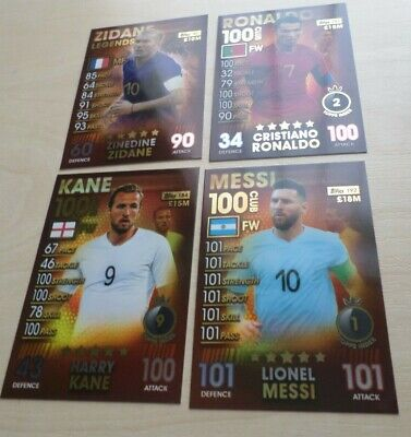 Match Attax 101 - UPDATED 12/06/2019 - NEW CARDS ADDED