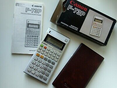 VINTAGE CANON F73 Program /Box/Case/Like New