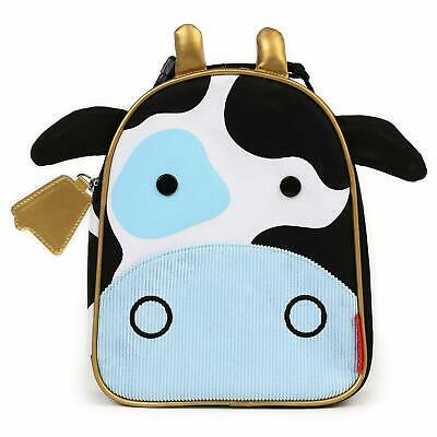 New Skip Hop Zoo Lunchie Insulated Kids Lunch Bag, Cheddar Cow Free shipping