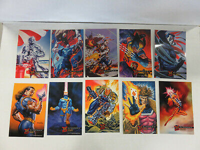X-MEN '95 Ultra Fleer Set of 10 ULTRAPRINTS 10x7