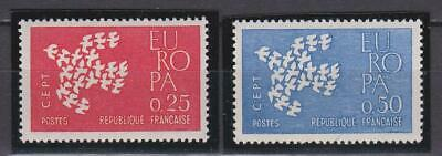 F854 -  France Stamps 1961 Europa Cept Mnh