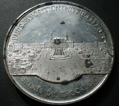 France 1878 Paris Exposition Medal. (EF) Dia: 50mm