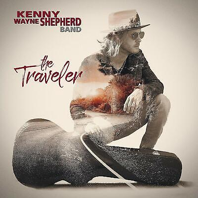 The Traveler by Kenny Wayne Shepherd Audio CD Concord Records Blues Rock NEW