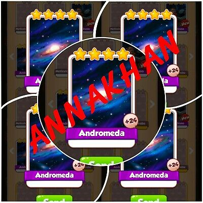 10X Andromeda:- Coin Master Cards martian lettuce ( Fastest Delivery)