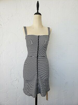 619a5ff93753 New with tags Reformation Nellie Mini Dress White/ Black Strip Size Xs 78.00