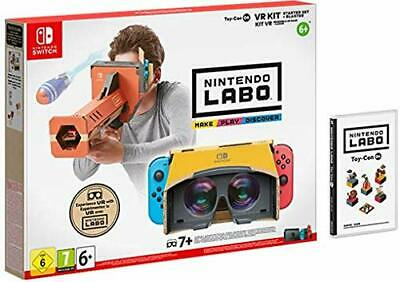 Nintendo Labo Kit VR (Set Básico con Desintegrador) Switch