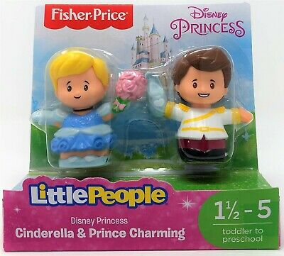 Little People Disney Princess Cinderella and Prince Charming Figure Toy