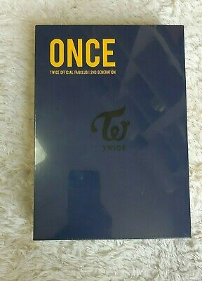 TWICE Official Fan Club ONCE 2nd GENERATION  Full Set. All configurations