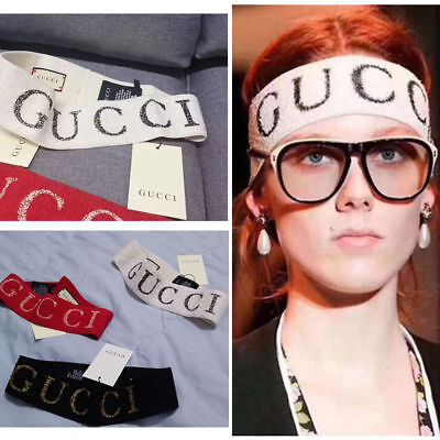 New GG Elastic Headband With Tags Free Shipping Red +White +Black