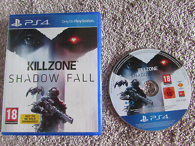 Sony Playstation Ps4 Game Killzone Shadow Fall