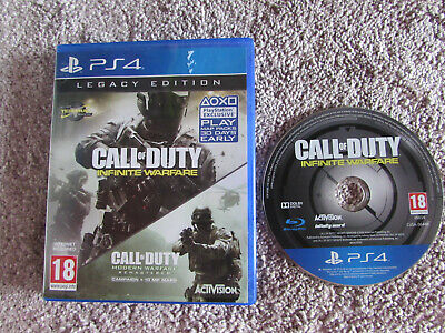 Sony Playstation Ps4 Game Call Of Duty Infinite Warfare Legacy Edition