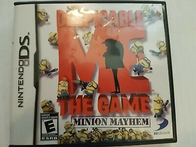 Despicable Me: The Game - Minion Mayhem/CIB/Tested Working/ Free Canada Shipping