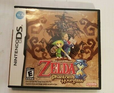 The Legend of Zelda: Phantom Hourglass/ CIB/Tested Working/ Free Canada Shipping