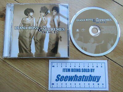 The #1's by Diana Ross & the Supremes (2004, Motown) (CD Album) VGC