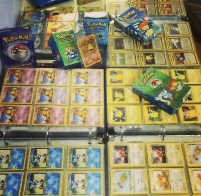 Pokemon Cards 50 Card Lot From Mostly Original Base Gym Jungle Fossil FUN PACKS
