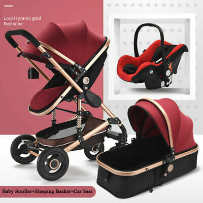 YulDek 3 in 1 fashion design Baby Stroller/Push-chair UK Stock express delivery