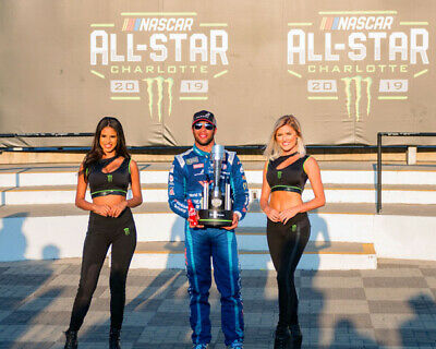 Darrell Wallace Jr 2019 All Star Open Win 8X10 Glossy Photo #8