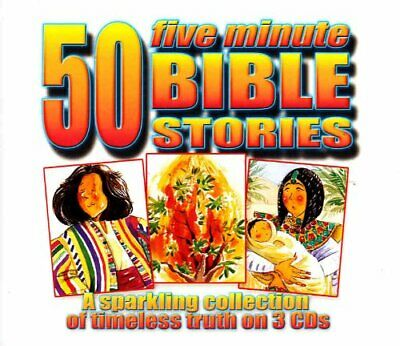 50 Five Minute Bible Stories -  CD CUVG The Cheap Fast Free Post The Cheap Fast