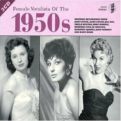 Various Artists - Female Vocalists of the 1950s - Various Artists CD OKVG The
