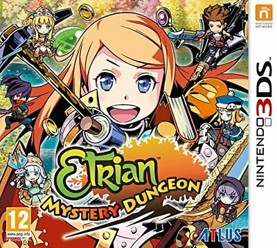 Etrian Mystery Dungeon (Nintendo 3DS) - Game  NKVG The Cheap Fast Free Post