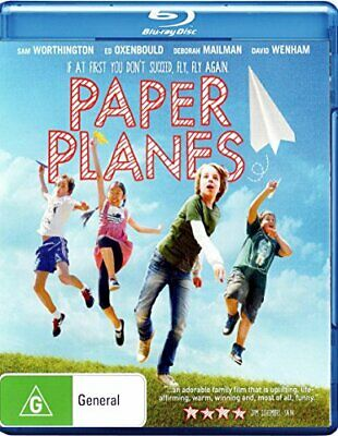 Paper Planes Bluray - DVD  ICVG The Cheap Fast Free Post