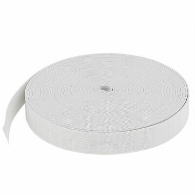 12M Length Household Craft Clothing Sewing Knitting Elastic Band Trim White