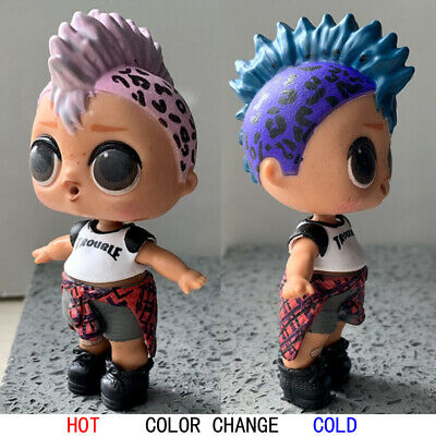 super rare ! LOL PUNK BOI BOY SURPRISE DOLL Series 3 WAVE 2 toy - color change