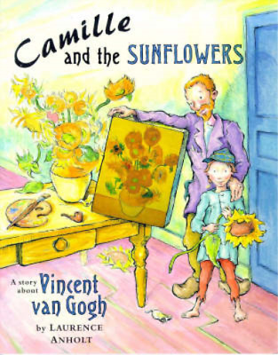 Camille and the Sunflowers, Anholt, Laurence, Used; Good Book