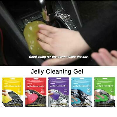 Magic Car Cleaning Mud Gel Universal Grid Clears Corners Of Dust And Dirt 80g