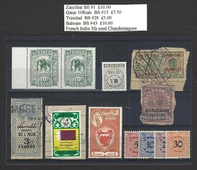Worldwide revenues collection (304 stamps and 22 documents)
