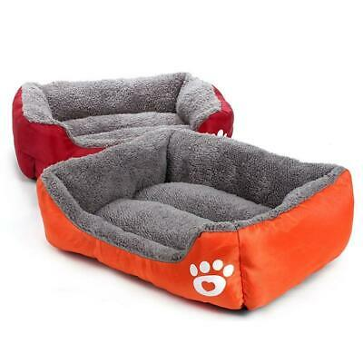 Soft Pet Dog Cat Bed Puppy Cushion House Warm Kennel Mat Blanket Washable