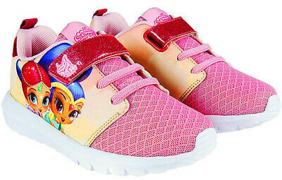 Shimmer and Shine Shoes for Girls Super light summer pink trainers Shimmer Shine