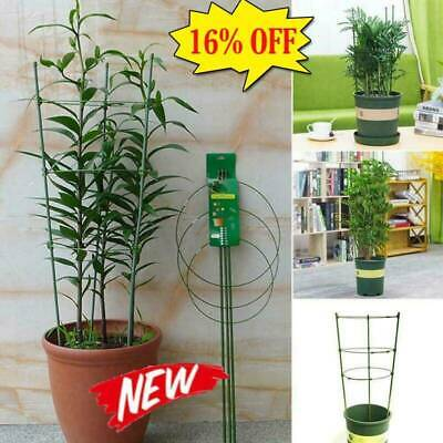 Climbing Plant Support Cage Garden Trellis Flowers Tomato Stand 3 Rings Super