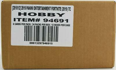Fortnite Series 1 Trading Cards Hobby 12-Box Case (Panini 2019) Presell