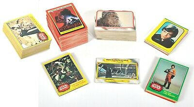 274 Star Wars Topps Bubble Gum Cards Stickers 1977 1980 ESB 1983 ROTJ File