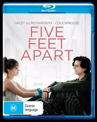 Five Feet Apart - Blu Ray Region B Free Shipping!