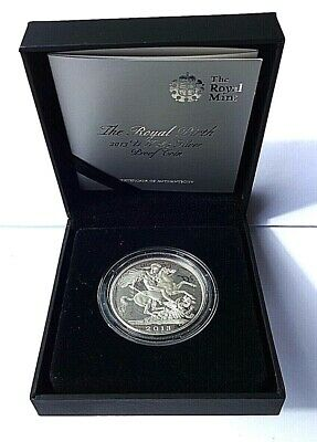 Royal Mint 2013 UK The Royal Birth of Prince George Silver Proof £5 Crown COA