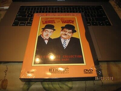 The Lost Films of Laurel and Hardy - The Complete Collection Vol. 8 dvd NEW BIN