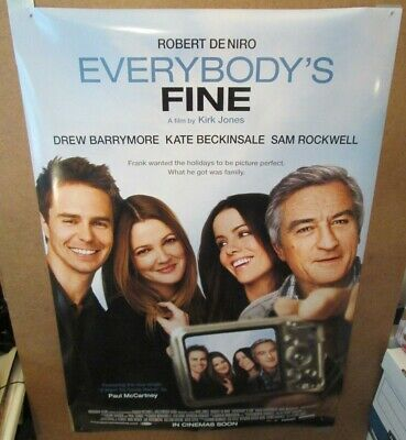 Everybody's Fine 2009 double sided one sheet - 27x40 rolled - free shipping