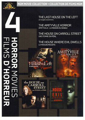 Mgm 4 Horror Films (The Last House On The Left ...... The House Where Evil (Dvd)