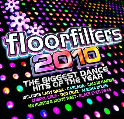 Various Artist - Floorfillers 2010 - Various Artist CD T0VG The Cheap Fast Free