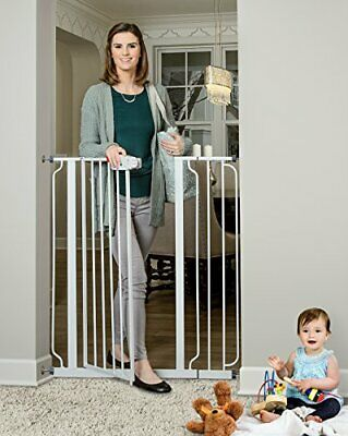 Regalo Easy Step 51-Inch Extra Wide Baby Gate Includes 6-Inch and 12-Inch Kit,