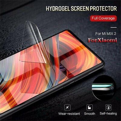 Hydrogel Film Curved Full Cover Screen Protector For Xiaomi Mi 8 9 Redmi Note 7