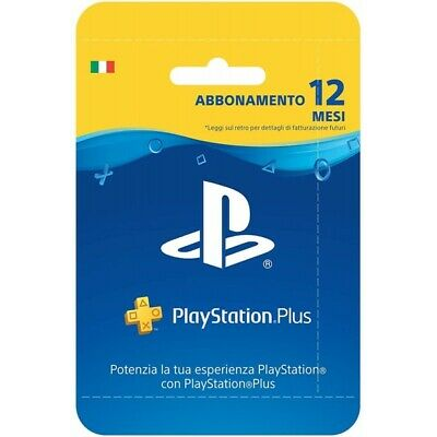 Sony Playstation Plus Card: 365 Smart Card Multicolore