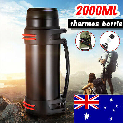 2L Stainless Steel thermos Bottle Travel Drink Mug Flask Thermal Water Insulated