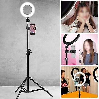 16CM LED Ring Light With Stand Dimmable LED Lighting Kit For Makeup Youtube Live